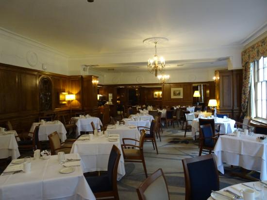 Dunkeld, UK: Dining room