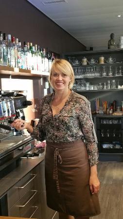 Kreuzlingen, Suisse : Ein Ort zum verweilen. Tolle Caffees Frische Fruchrsäfte Smoothies usw geniessen