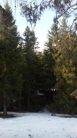 Ayas, Italië: Lo Zerbion dal fondo valle