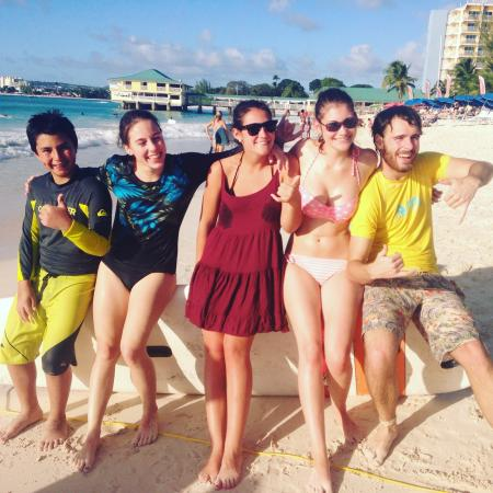 Atlantic Shores, باربادوس: Surfing Barbados with Ride The Tide Surf School: Surfing lessons