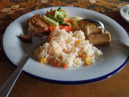 Hotel Bumi Sawunggaling : Menu sarapan