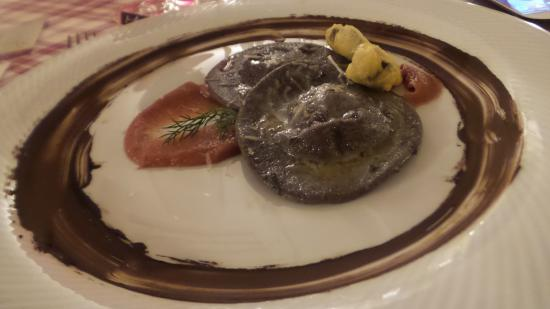 Pontassieve, Włochy: tortelli