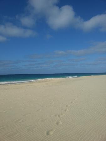 Praia de Santa Maria: Man är nästan för sig själv