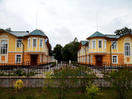 Yaroslavl Oblast, Russia: вид на гостевые дома