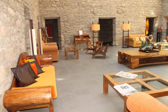 Boltana, España: Interior del hotel