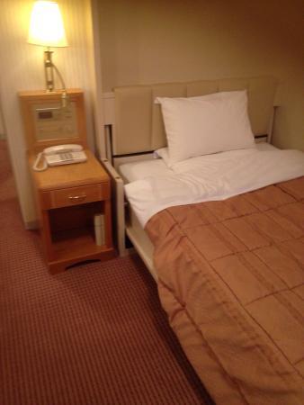 Kashiwa, Japón: 2泊しましたが、大変心地よいホテルでした。特に従業員の方が、どなたも感じ良い対応で、安心して過ごすことができました。 WiFiがあるか心配でしたが、フロントでルーターを使用貸し出すシステムにな
