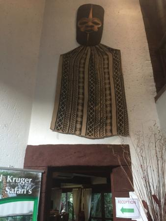 Marloth Park, África do Sul: Hotel Decor :)
