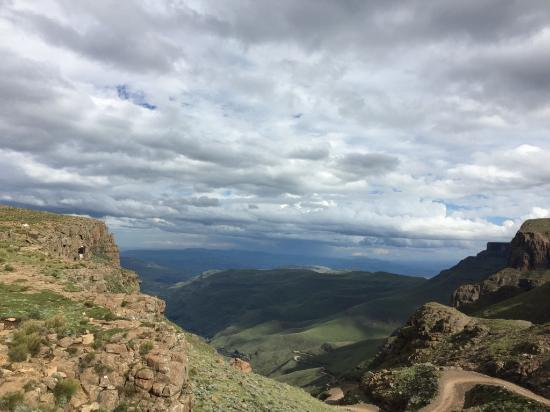 Sani Pass, Lesoto: View from the pub deck