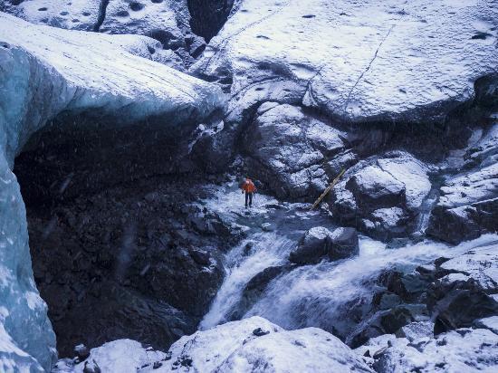 Hofn, أيسلندا: Ingången till isgrottan