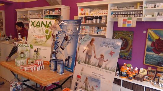 Susa, Italien: Il negozio