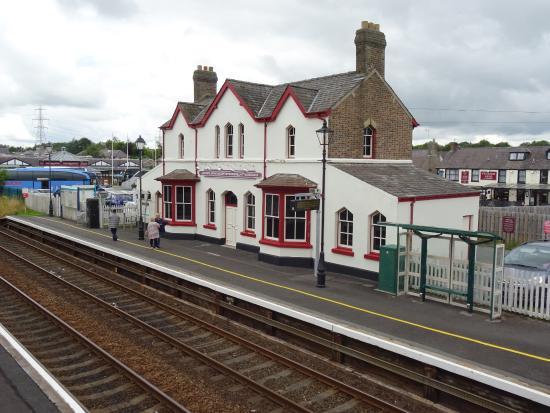 Llanfairpwllgwyngyll, UK: The railway station
