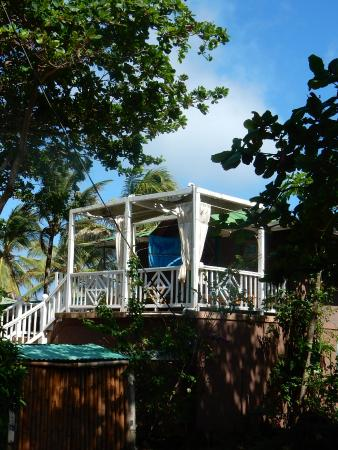 Corn Islands, Nicarágua: Crows Nest which was upstairs from the Beach Suite