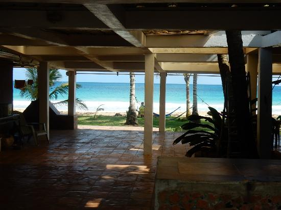 Corn Islands, Nicaragua: View from beach suite