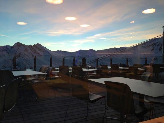 Samnaun, สวิตเซอร์แลนด์: Traumhafte Aussicht
