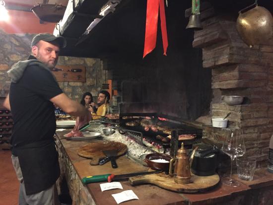 Castelforte, Italia: Molto accogliente, buona carne, prezzi onesti! Da ritornare