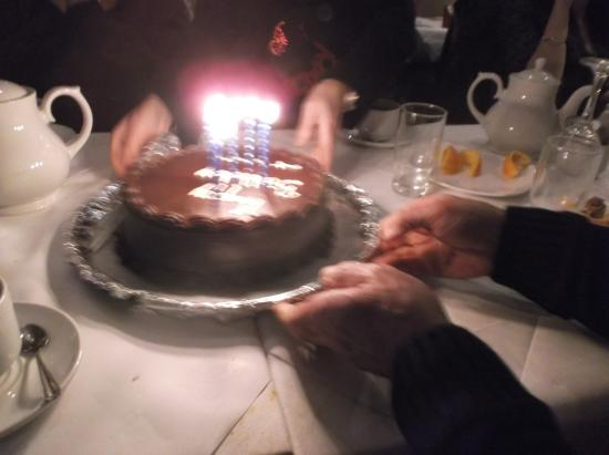 Awe Inspiring The Birthday Cake Picture Of Spice Of India Limerick Personalised Birthday Cards Xaembasilily Jamesorg