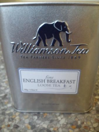 Market Drayton, UK: English Breakfast Tea