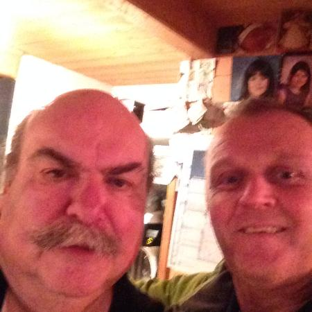 Saint Jean d'Aulps, France : Me and Bill