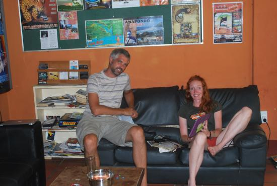 Stumble Inn Backpackers Lodge Stellenbosch: meet people