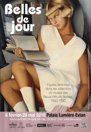 """Evian-les-Bains, Γαλλία: Exposition """"Belles de jour"""" du 6 février au 29 mai au Palais Lumière"""
