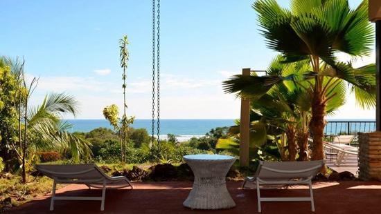 Esterillos Este, Kosta Rika: terrasse vue pacifique