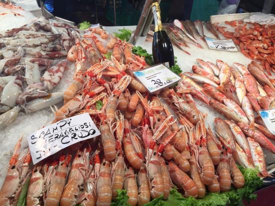 Hotel San Salvador : Чего только нет на Рыбном Рынке!!! Цены раза в 2 меньше, чем в МСК...
