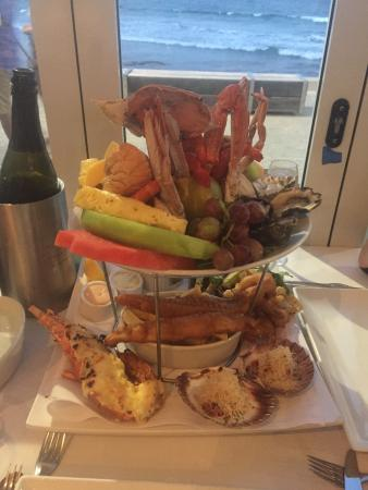 Cronulla, Austrália: Seafood Platter to share with lobster