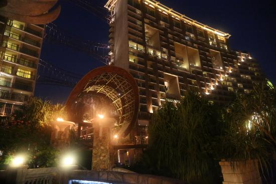 night view from the pool area of the resort picture of centara rh tripadvisor co za