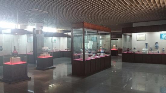 Shaoguan, Kina: One of the open exhibition
