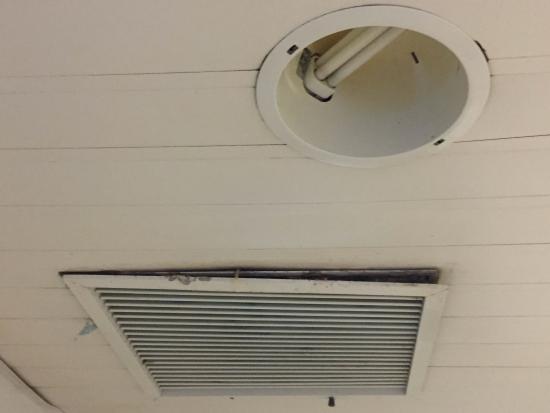 Rejilla Baño | Cielorraso Bano Habitacion Rejilla De Ventilacion Atada Con