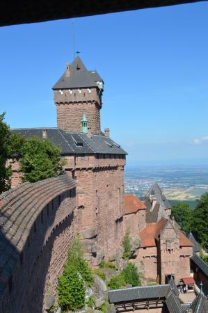 Orschwiller, Frankreich: du chateau à la plaine d'Alsace