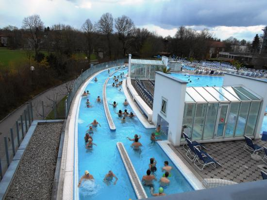 Europa Therme Bad Fussing: Outdoor pools
