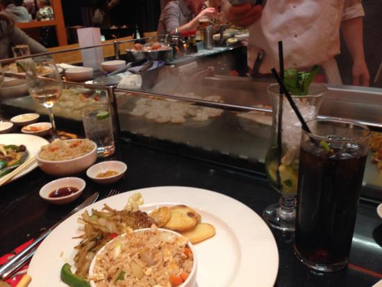 Teppanyaki Grill - Picture of Sapporo Teppanyaki - Manchester ...
