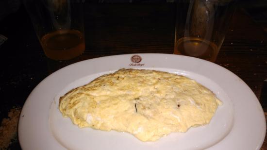 Astigarraga, Hiszpania: Tortilla jugosa