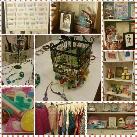 Ballinasloe, Irlanda: Wide range of handmade local crafts available