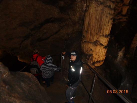 Tatranska Lomnica, Slovaquie : V jeskyni..