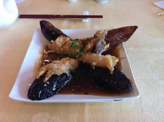 Happy Valley Seafood Restaurant: Egg plant with shrimp paste