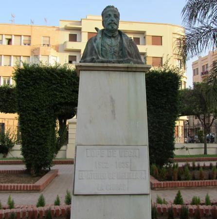 Escultura de Lope de Vega