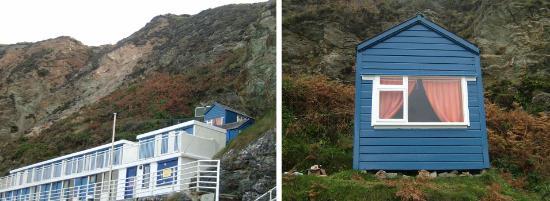 St. Agnes, UK: The Beach Hut at Trevaunance Cove