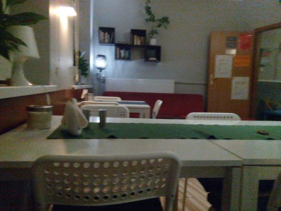 Kuchnia w Premium Hostel