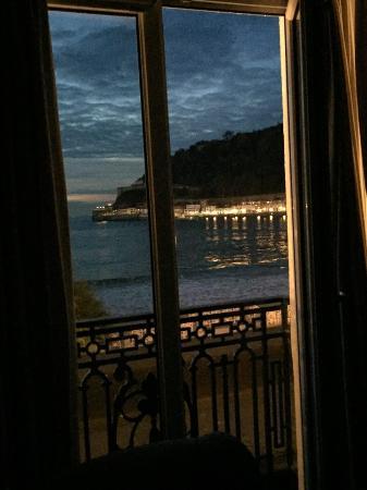 Hotel de Londres y de Inglaterra: Indescritível as cores desse amanhecer! (suite no primeiro andar).