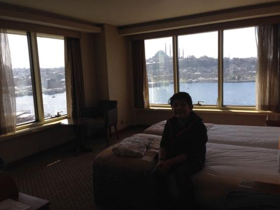 Istanbul Golden City Hotel: Herrlicher Ausblick