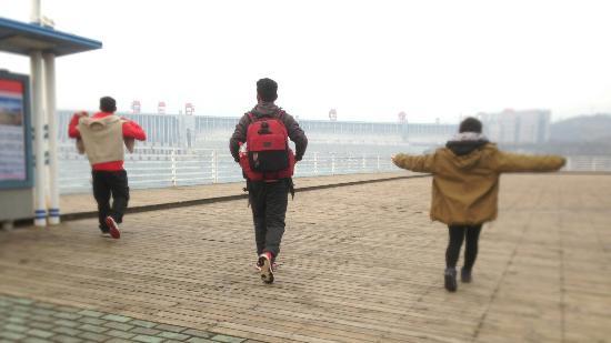 Yichang, الصين: Three Gorges Dam. Must visit site in Yichang.