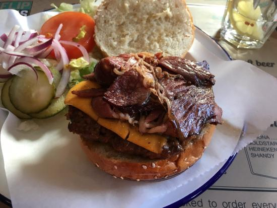 Borehamwood, UK: Guilty Burger