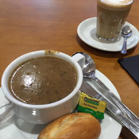 County Durham, UK: Wild mushroom soup - very good