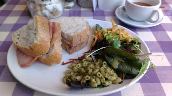 Stroud, UK: Bacon sarnie Lavender Style