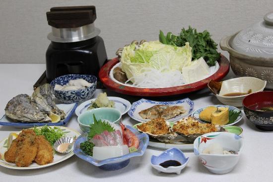 Kyotango, Japão: 牡蠣料理例