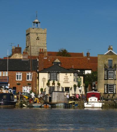 Wivenhoe, UK: View from across the water