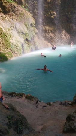Oslob, Filippijnen: water fall