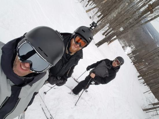 White Cap Mountain Lodge: About to ski The Dragon